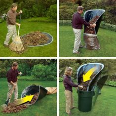 Flexible Yard Waste Mats - The Leaf Loader Makes Raking Leaves a Less Intensive Process (GALLERY)