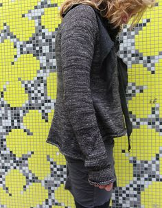 Ravelry: Yellow Wall Cardigan pattern by Judy Brien