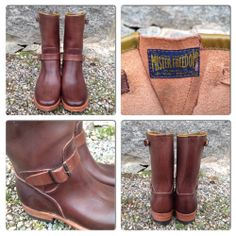 Mister Freedom Road Champ. Made in USA. (mfsc, cat's paw, boots)