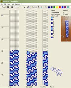Узоры для вязаных жгутиков-шнуриков 6   biser.info - всё о бисере и бисерном творчестве