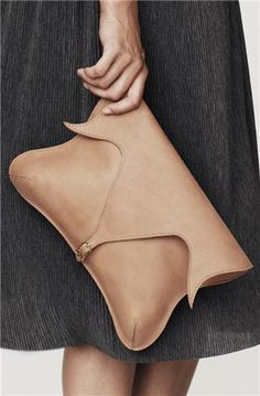 Nanushka Anu Tulip Shaped Clutch