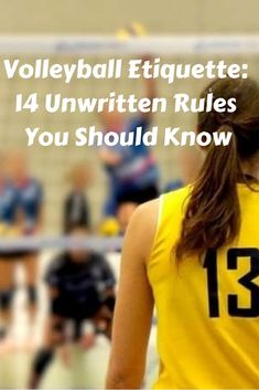 New to volleyball? Here's some volleyball etiquette tips to know before you hit the court! Volleyball Training, Volleyball Rules, Volleyball Tryouts, Volleyball Skills, Volleyball Practice, Volleyball Outfits, Coaching Volleyball, Volleyball Drills For Beginners, Volleyball Crafts