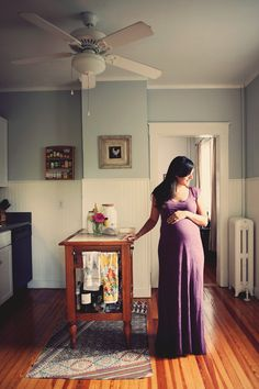 vintage+maternity+in+the+home