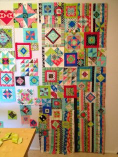 Wow, the more I work on this quilt the more I am loving it.  I am not sure if it is the finished product so much as the process that I am e...