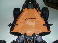 20-2538 Outerwears Pre-Filter chassis shroud for HPI 5T.