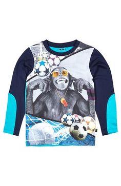 Super cool Me Too T-shirt Terkel Blå Mønstret Me Too T-shirt til Børn & teenager i behagelige materialer