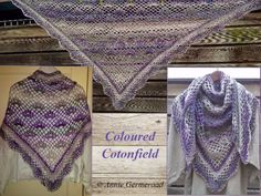 Coloured Cotonfield. NL beschrijving en met diagrammen.