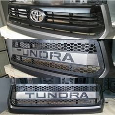Hood bulge tundra pinterest hoods toyota and toyota tundra picture of dbcustomz tundra 2016 grille insert with color matched letters publicscrutiny Image collections