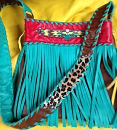 Wild and Weird Western Wednesday - Jody Reese Designs — California Dreamin' by Amy Witt Cowgirl Style, Gypsy Cowgirl, Boho Fashion, Fashion Outfits, Western Purses, Boho Bags, Cute Purses, Cute Bags, Western Wear