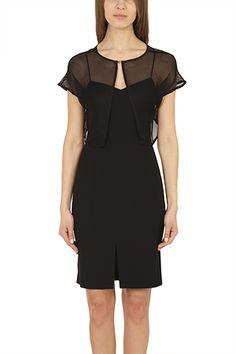 0e1bf4659a7008 Entdecke tolle Looks. StylishCircle.de · Das kleine Schwarze · Black  Quilted Sleeveless Dress