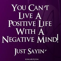 There's power in positive thoughts.