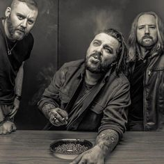 Seether (Shaun Morgan — vocals/guitar, Dale Stewart — bass/vocals, and John Humphrey — drums) have revealed details for the Poison the Parish World Tour, which includes headline shows and major festival appearances throughout the spring and summer of 2017.