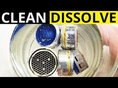 Faucet Aerator Cleaning Perlator - YouTube Home Hacks, Asmr, Faucet, The Creator, Environment, Cleaning, Youtube, Diy, Style