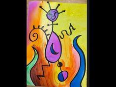 Joan Miro art project for kids - YouTube