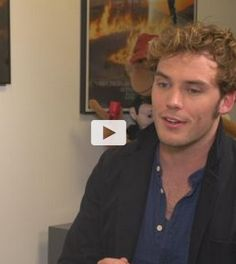 """VIDEO: Sam Claflin on filming Mockingjay: """"It's been difficult for me"""". The star opens up about shooting the finale to the Hunger Games series."""