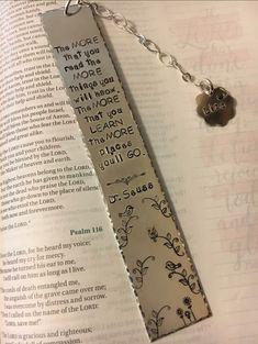 Bookmarks Lace Jewelry, Metal Jewelry, Jewelry Art, Metal Stamped Bracelet, Stamped Jewelry, Diy Jewelry Stamping, Metal Stamping, Bookmarks For Books, Book Marks