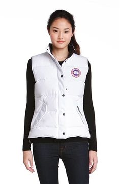 CANADA GOOSE 'Freestyle' Slim Fit Down Vest (Online Only). #canadagoose #cloth #
