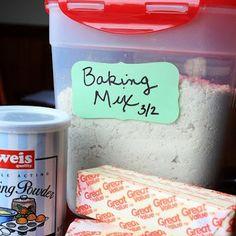 DIY Bisquick Baking Mix