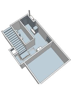 from an unfinished basement to the ultimate man cave, basement ideas, entertainment rec rooms, Sketchup drawing before we started construction