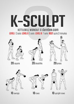 K-Sculpt Workout A workout named after me, Sweet!!