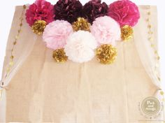 Photocall con Pompones, fotos únicas. | Packandthings Blog