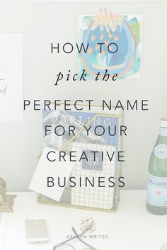 How to Name Your Business Entrepreneur