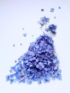 Newspaper Art, Lavender Aesthetic, Pressed Flower Art, Fashion Wall Art, Tumblr Photography, Color Pencil Art, Arte Floral, Little Flowers, Cute Illustration