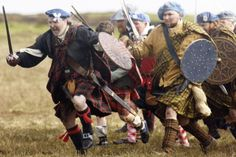 For decades the popular narrative of the 1746 battle has held that a poorly led, ill-disciplined, ill equipped highland army was routed by professional British redcoats deploying muskets and cannon fire. Highlands Warrior, Starz Series, Musketeers, Scottish Highlands, Bradley Mountain, Outlander, Battle, Army, Military