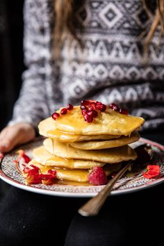 Moroccan Pancakes (Beghrir) - These Moroccan pancakes are just a little bit life changing. From halfbakedharvest.com