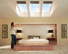 1000 images about roof windows for gadget lovers on for Skylight with remote control