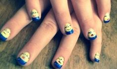 Tram << Seasons Salon and Day Spa #nailart #gelpolish #handpainted #nails