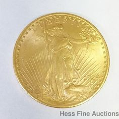 1924 United States St Gaudens $20 Double Eagle Gold Coin