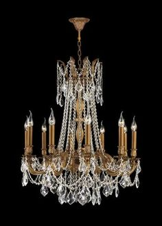 Golden opulence traditional french provincial chandelier 5 lights monaco 8 arm chandelier french gold aloadofball Gallery