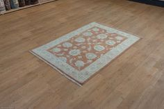 Hand Knotted Ziegler Rug from Afghanistan. Length: 178.0cm by Width: 123.0cm. Now only £665 (Was £754) at https://www.olneyrugs.co.uk/shop/rugs-for-sale/afghan-ziegler-18137.html    Buy one of our amazing collection of kilim carpets, foot stools and Kilim bags at www.olneyrugs.co.uk