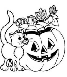 45 Best Halloween Coloring Pages Images On Pinterest