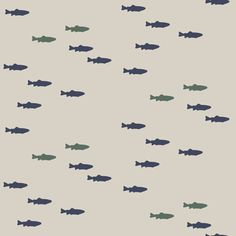 fish on beige || adventure camp by littlearrowdesign