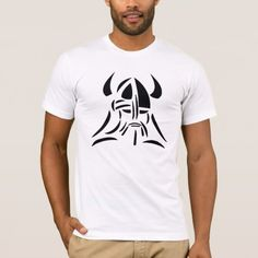 Vikings T-Shirt - click/tap to personalize and buy Viking Logo, American Apparel, Vikings, Colorful Shirts, Heather Grey, Fitness Models, Unisex, Stylish, Mens Tops