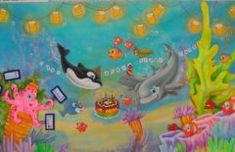 mar 8 Decoración marina,