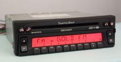 BECKER TRAFFIC STAR NAVISYS BE 2238 CAR CD PLAYER NAVIGATION UNIT  #Becker