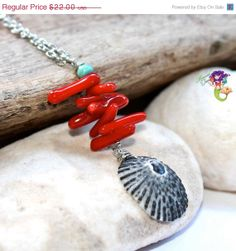 SALE Shell Jewelry made in Hawaii Hawaiian by MermaidTearsDesigns, $19.80