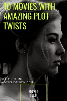 10 Movies With Amazing Plot Twists - Page 3 of 3 - Movie List Now – Memento (Christopher Nolan, being brutally injured and having his wife murdered, a man will search endlessly for the killer of the woman, even having to deal with … Great Movies To Watch, Netflix Movies To Watch, Movie To Watch List, Christopher Nolan, Movies With Plot Twists, Best Detective Movies, Psychological Thriller Movies, Psychological Horror, Love Movie