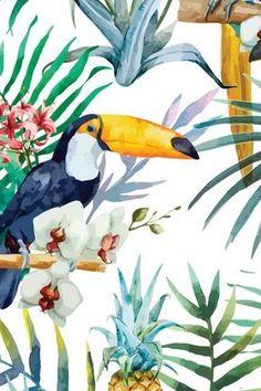 Como ya estamos en otoño y se nos va a acabar el buen tiempo , unos estampados tropicale ssiempre animan. ¿ O no? Enlaces: http://www....
