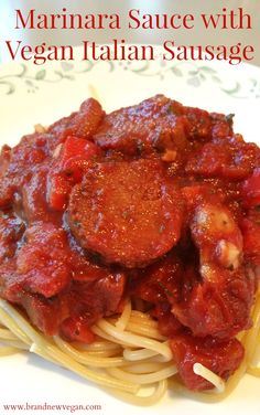 This Vegan Italian Sausage is a quick and easy Seitan Recipe that uses your Instant Pot or Steamer! Add some tomatoes and peppers and you have a quick tasty meal. Easy Seitan Recipe, Whole Food Recipes, Cooking Recipes, Crockpot Recipes, Soup Recipes, Vegan Dishes, Vegan Food, Vegan Pasta, Vegetarian Recipes