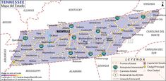TNGenWeb Project, Inc. | Memphis | Tennessee map, Tennessee state ...