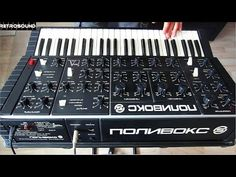 (c) 2015 vintage synthesizer demo by RetroSound supported by UVI: http:& Polivoks Duophonic Analog Synthesizer Made in USSR D. Music Instruments, Music Production, Electronics, Hardware, Classic, Vintage, Musica, Derby, Musical Instruments