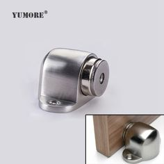 Magnetic Home Stopper Stainless Steel Door Stop Adjustable Hardware Hydraulic