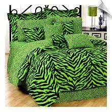 Tiger AND Leopard print comforter set