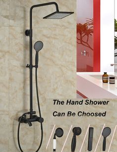 Any Of These Rain Shower Heads With Handheld Would Work Does Not