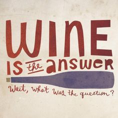 I don't want to know the question, do you? Cheers:)