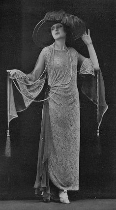 Afternoon Dress by Lucile, 1923.
